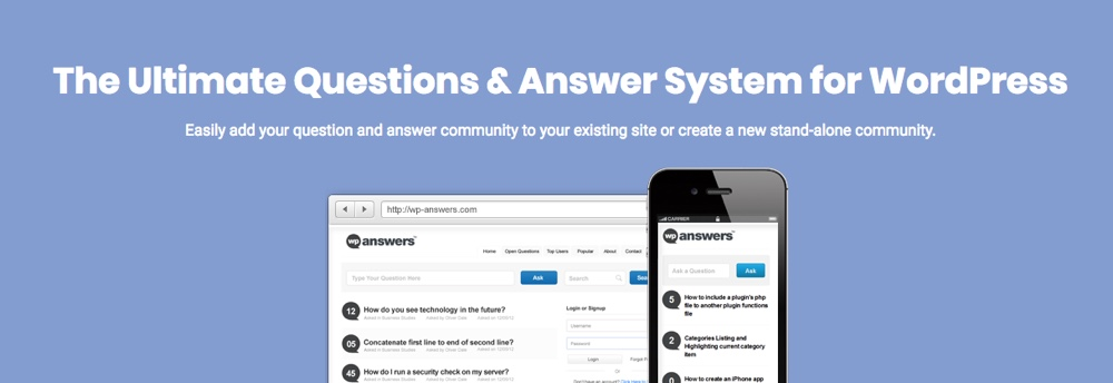 WP-Answers WordPress Q&A Plugin