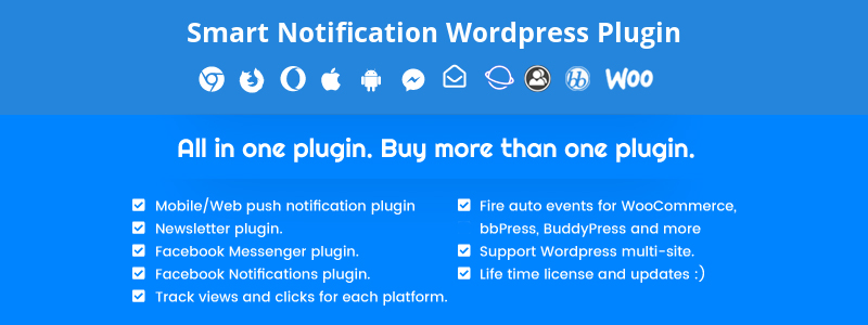Notificaciones inteligentes Premium WordPress Plugin