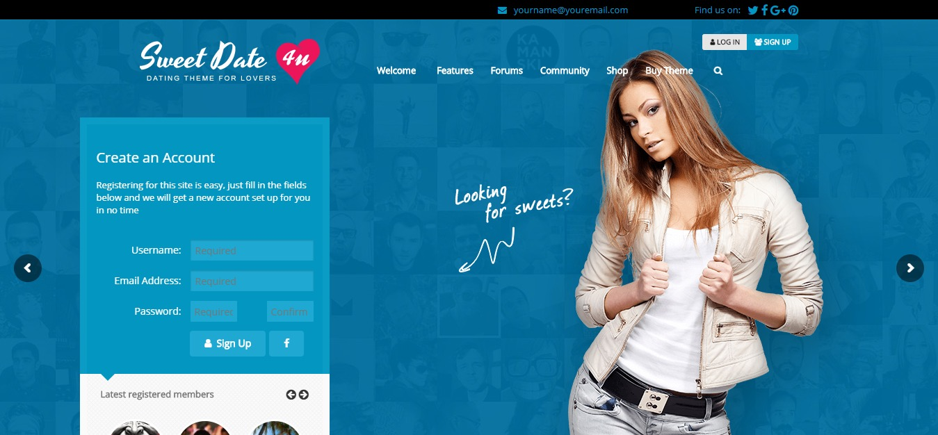 Sweedate-citas-wordpress-theme