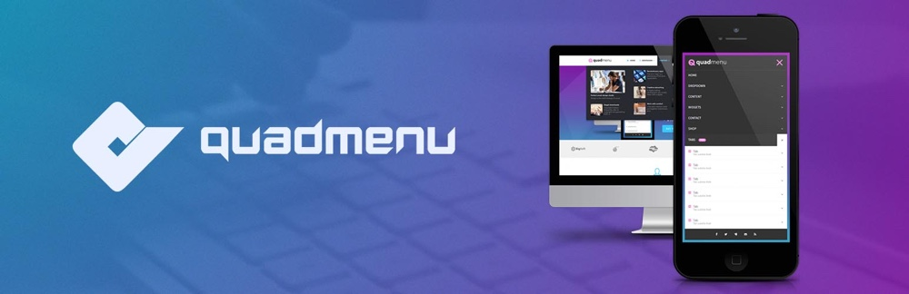 QuadMenu Free WordPress Mega Menu Plugin