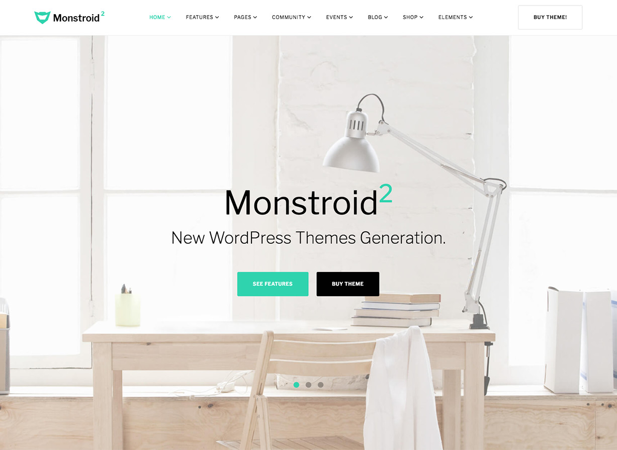 Tema de WordPress Monstroid 2 Business