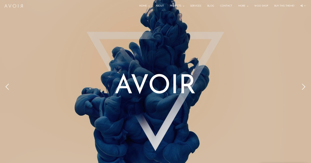 "AVOIR ""WordPress"" tema"
