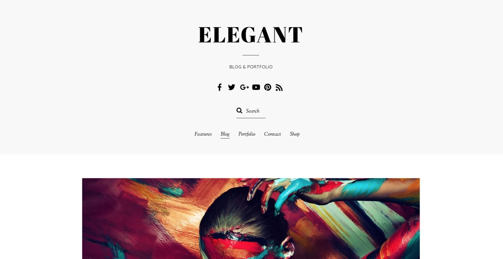 "Themify Elegantiška ""WordPress"" tema"