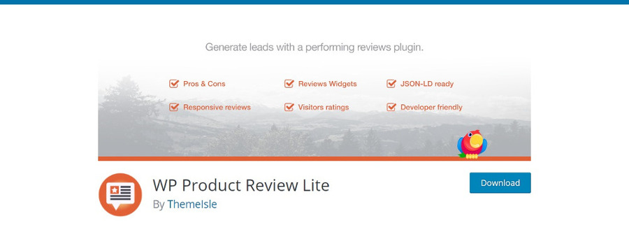 """WP Product Review Lite"""