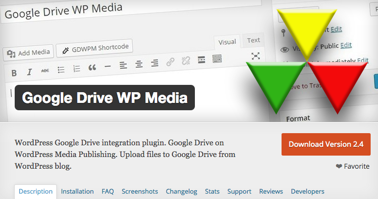 Doplnok Google Disk WP Media WordPress
