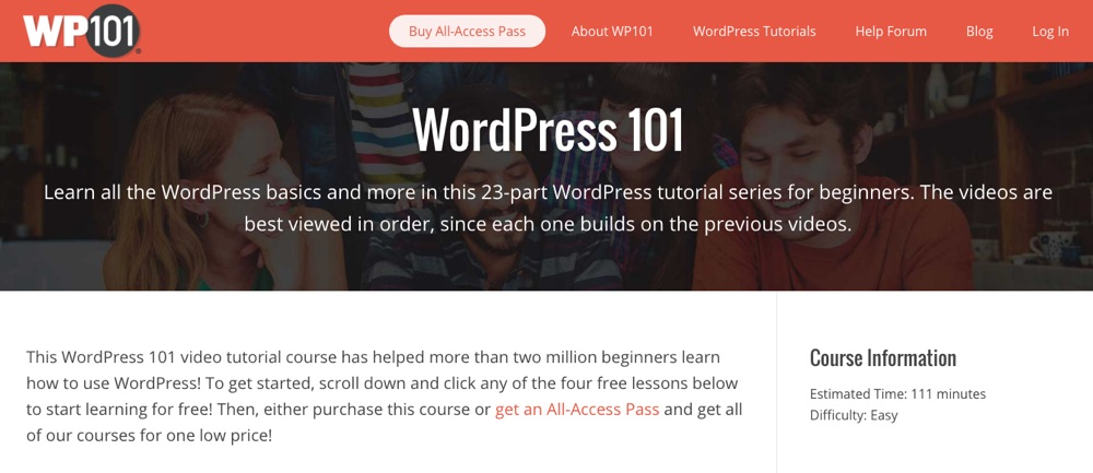WordPress 101: Los fundamentos de WP101