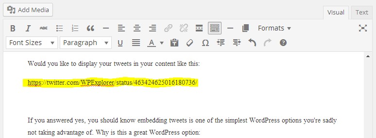 easy-tweet-embedding-wordpress-options-wpexplorer