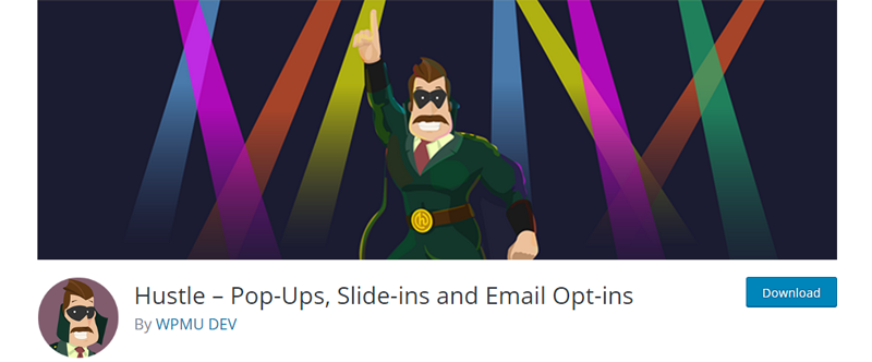 Hustle - Pop Ups Drsni vnosi in E-pošta za optimizacijo - Vtičniki vtičnikov - WordPress
