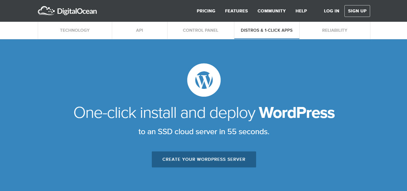 digitalocean wordpress