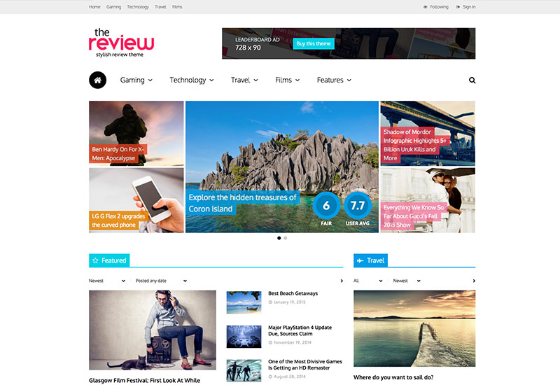 thereview-betyg-recensioner-wordpress-tema