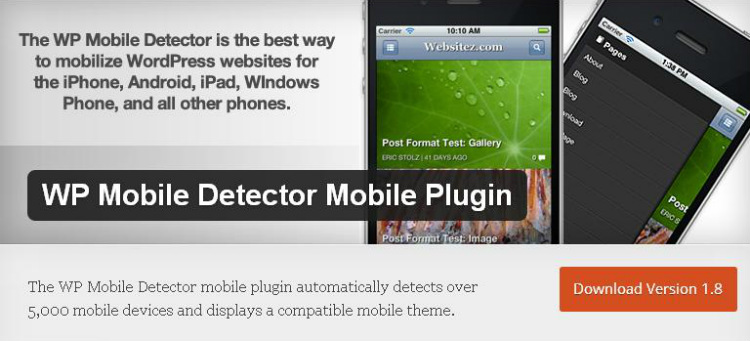wp-mobile-detector-plugin-for-wordpress
