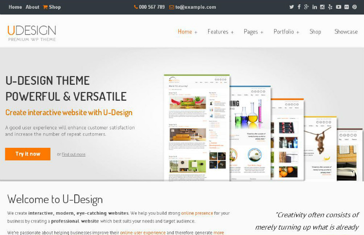 udesign-odzivno-wordpress-tema