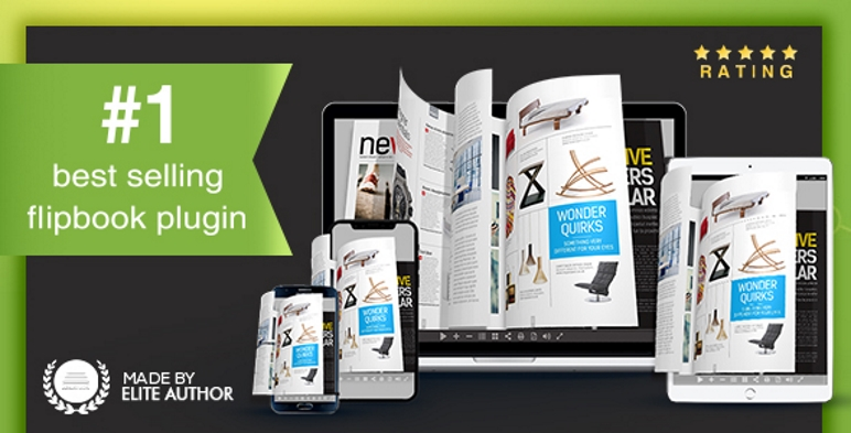 Complemento Real3D FlipBook WordPress