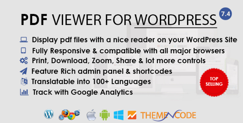 Visor de PDF para WordPress Plugin
