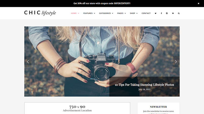 chic-WordPress-theme