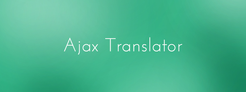 Plugin Ajax Translator Revolution DropDown WP
