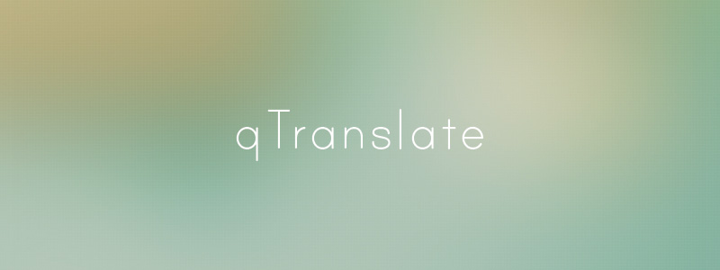 Traduce WordPress con qTranslate