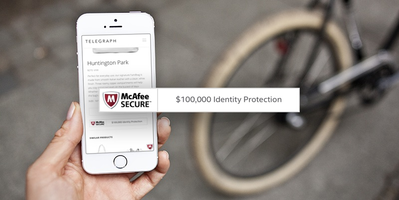 McAfee SECURE Identity Protection