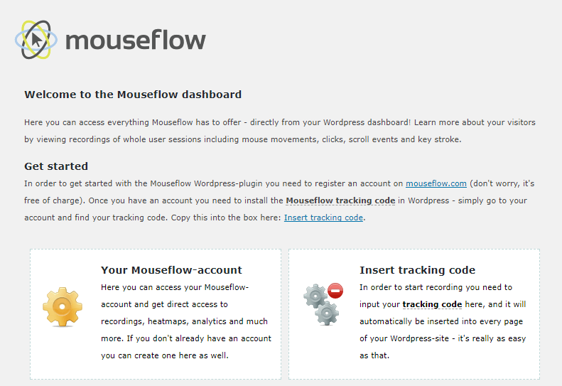 mouseflow wordpress plugin