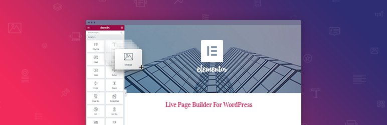 """Elementor Page Builder"" papildinys"