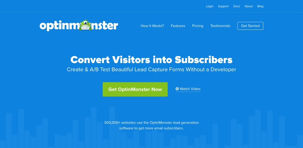 OptinMonster Lead Generation Software para WordPress
