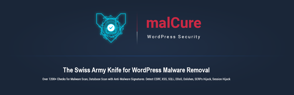 MalCure WP Malware Scanner a Firewall