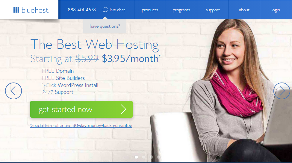 Bluehost beste Woocommerce hosting