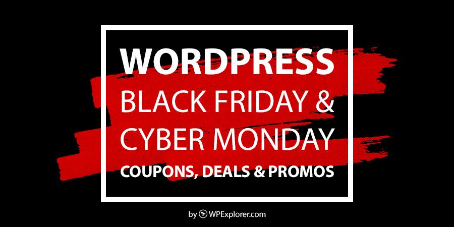 WordPress Black Friday in Cyber ​​Monday Prodaja, kuponi in ponudbe