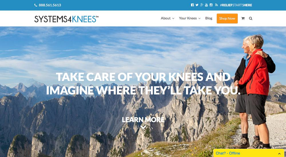 Systems4Knees: tema total de WordPress