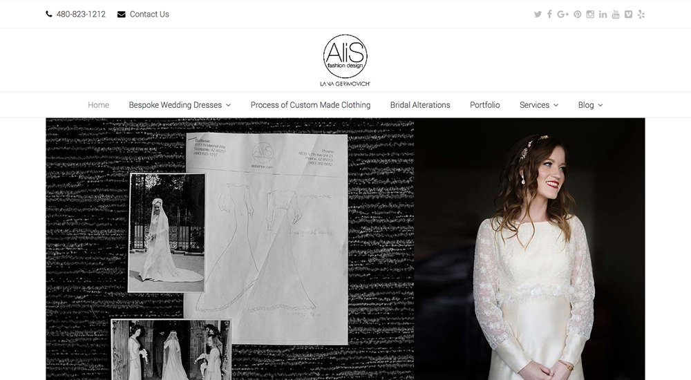 Alis Fashion: tema total de WordPress