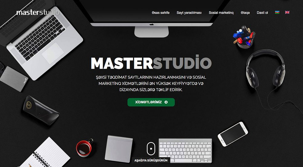 Master Studio: tema total de WordPress