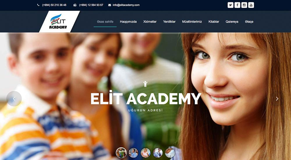 Elit Academy: tema total de WordPress