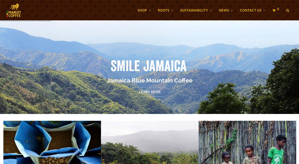 Marley Coffee: tema total de WordPress