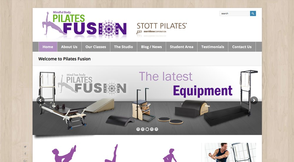 Pilates Fusion: tema total de WordPress