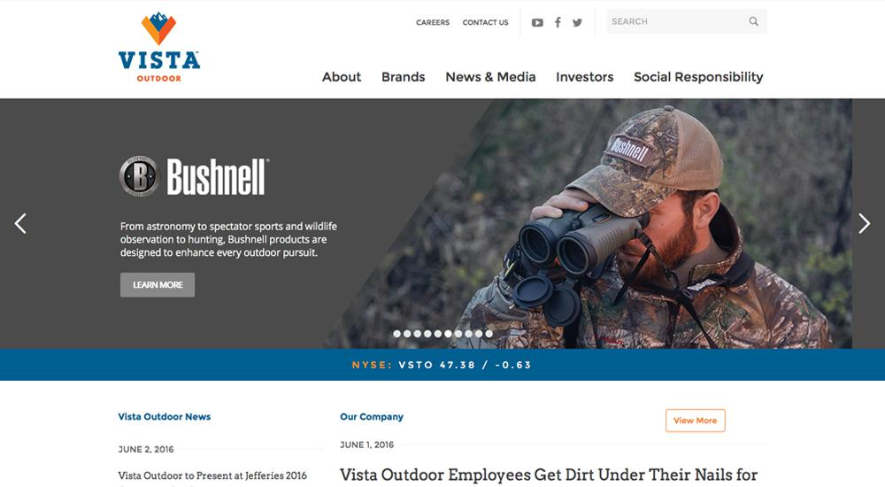 Vista Outdoor: tema total de WordPress