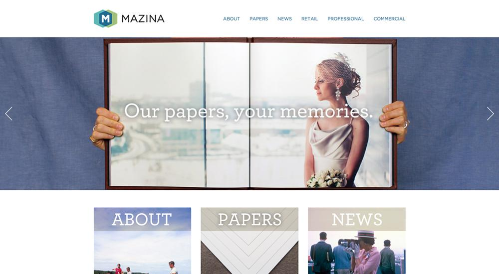 Mazina: tema total de WordPress
