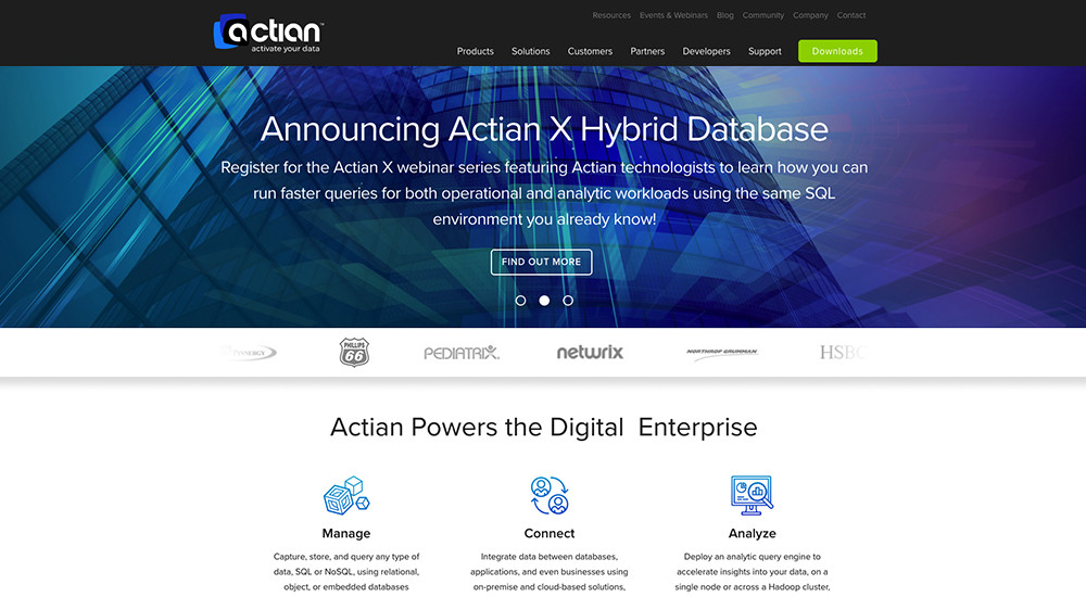 Actian: tema total de WordPress