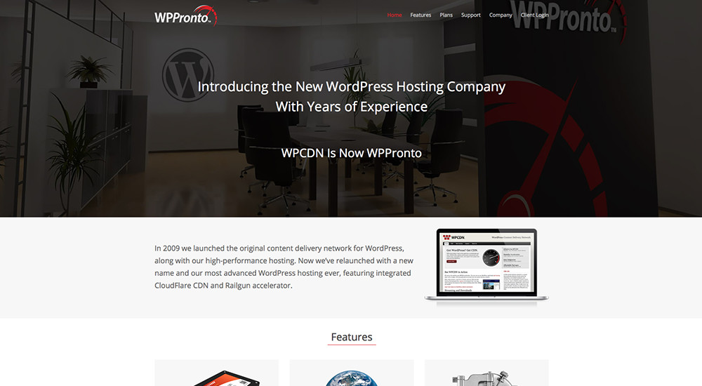 WP Pronto: tema total de WordPress