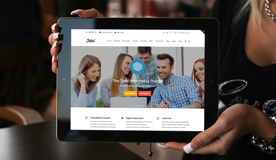 Total Premium WordPress Theme Framework