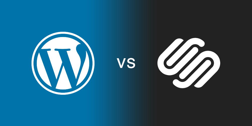 WordPress vs Squarespace: diferencias y características