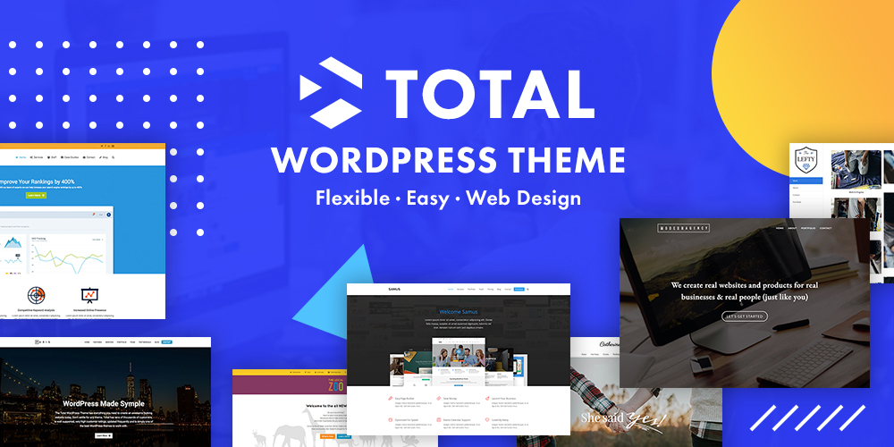 Tema total de WordPress